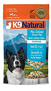 K9 Natural Freeze Dried Topper Beef Green Tripe 2.6oz