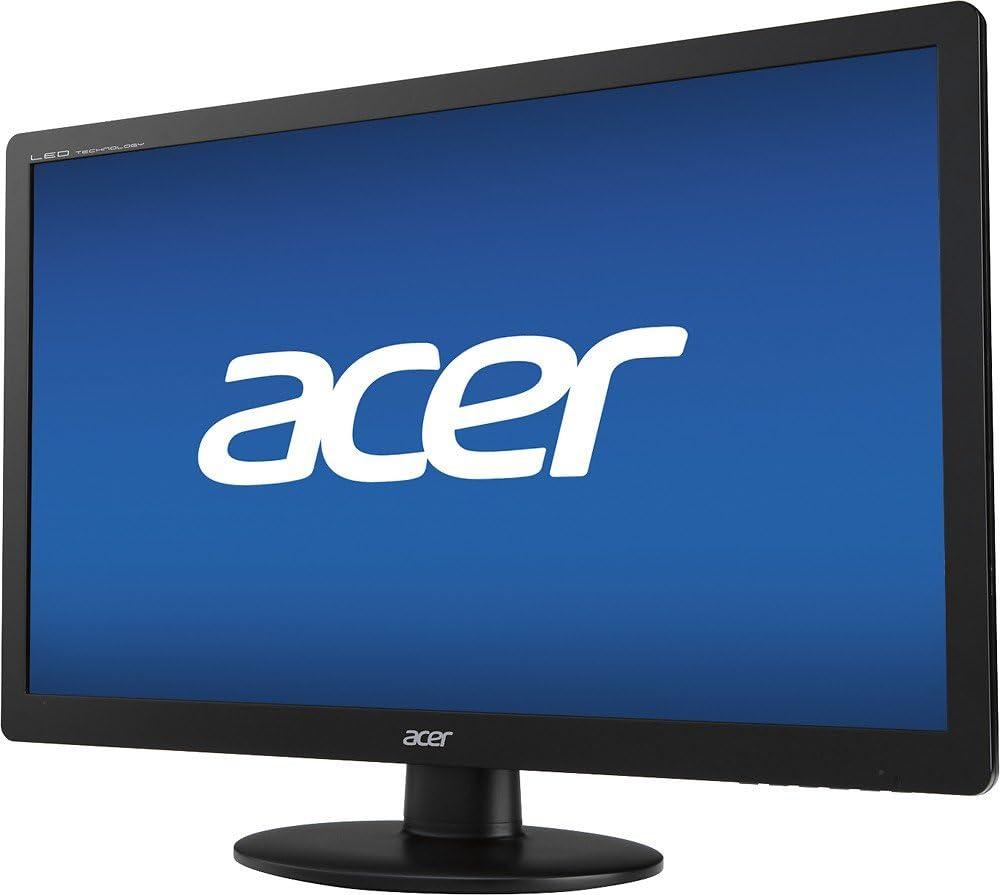 Amazon.com: Acer 19.5 Monitor LED Mercury Free: Electronics