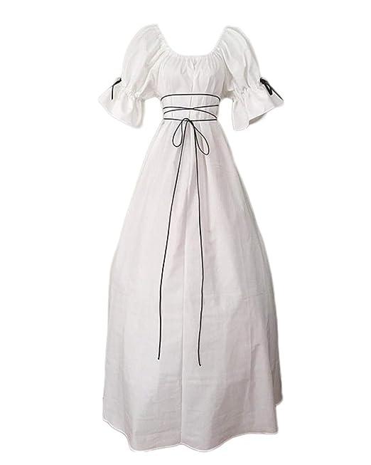 Disfraz Medieval Mujer Vestido Medieval Renacimiento Traje ...
