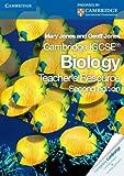 Cambridge IGCSE Biology Teacher's Resource CD-ROM, Mary Jones and Geoff Jones, 0521176174