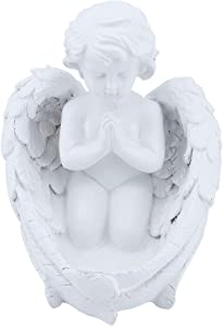 MoYouno Angel Cherub Praying Figurine, Nana Gift Mother Gift Grandma Present, Home Decor, Church Gift Decoration, Garden Ornaments