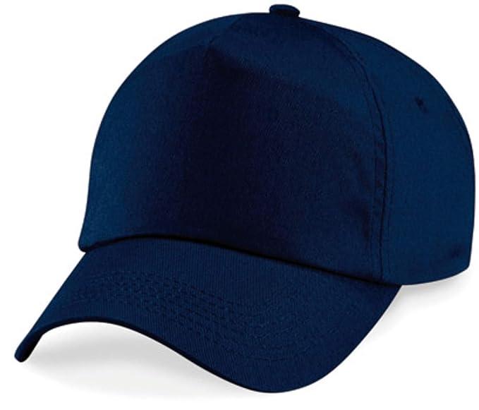 Cappellino da baseball 5 Chiusura a strappo unisex misura tanti colori -  Unisex 90598bfecab1