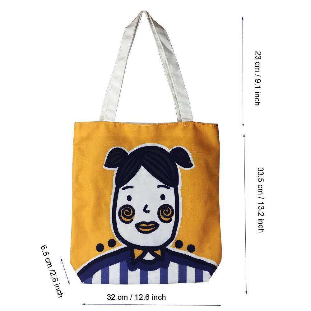 aa9c4bb65934 Eflying Lion Fashion Womens Shoulder Bag,Girls Shopping Tote Bag, Retro  Casual Womens Handbags,Ladies Shoulder Bag