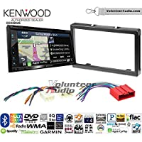 Volunteer Audio Kenwood Excelon DNX694S Double Din Radio Install Kit with GPS Navigation System Android Auto Apple CarPlay Fits 2001-2006 Mazda Tribute