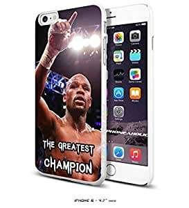 Floyd Mayweather The Greatest Champion, Boxing, Boxer,Cool iPhone 4s Inch Smartphone Case Cover Collector iphone TPU Rubber Case White [By PhoneAholic]