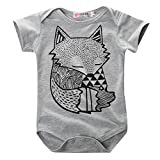 Hotone Baby Boys Girls Rompers Kids Little Fox