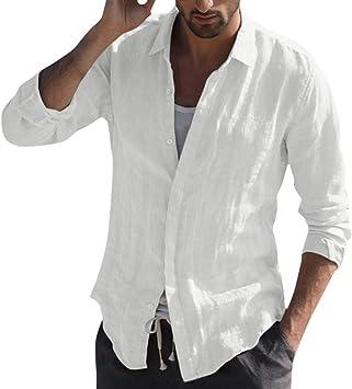 Camisetas de solapa, para hombre, informales, ajustadas, con ...