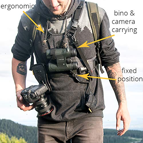 Cotton Carrier CCS G3 Camera and Binocular Harness - Grey by Cotton Carrier (Image #4)