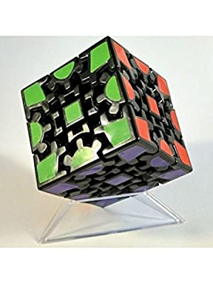 Elstey Magic Combination 3d Gear Cube I Generation Black Painted Stickerless Twisty Puzzle