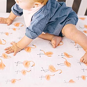 Amazon Com Newborn Baby Boys Girls Fruit Flamingo Soft Wrap Swaddle