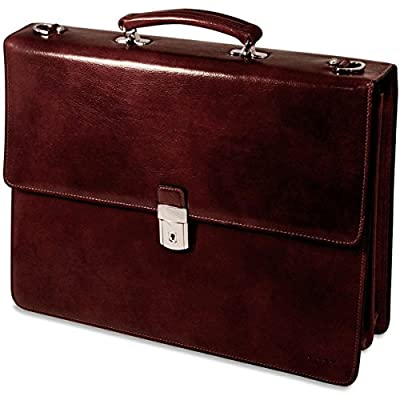 ADVOCATE FLAP OVER BRIEFCASE (Cherry)