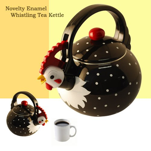 Supreme Housewares Whistling Tea Kettle, Rooster by Supreme Housewares (Image #1)