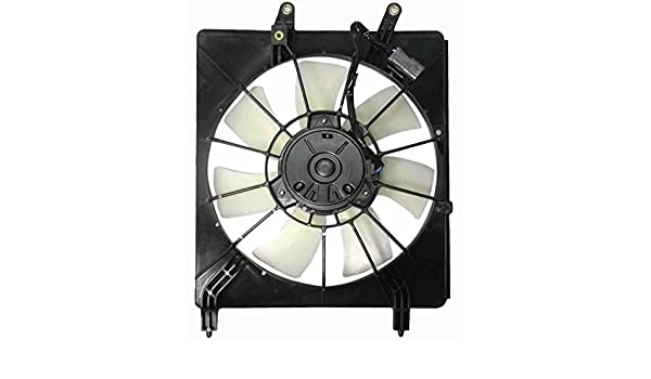 AC A//C Condenser Cooling Fan Assembly Passenger Right RH for 03-07 Honda Accord