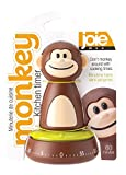 60 minute wind up timer - Joie Monkey Kitchen Timer, 60-Minute Mechanical, 4-Inches x 2.5-Inches