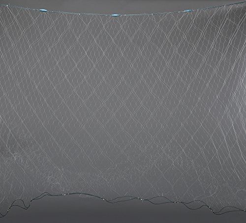 Night Cat Completed Finished Trammel Fishing Net, 3 Layers Fishing Gill Net, Seine Net, Ready for Use, Well Handmade, 6'x100' (Monofilament Net)