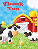 : On the Farm Thank You Notes