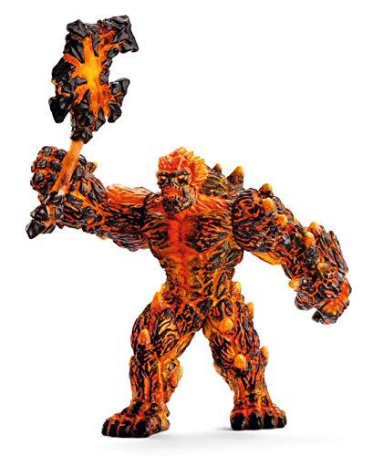 Schleich Eldrador Creatures Lava Golem w/ Weapon