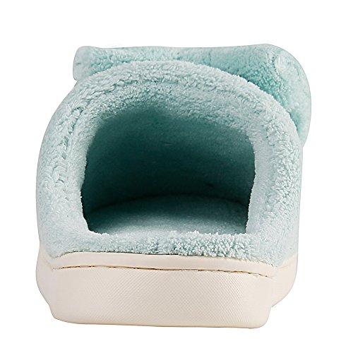 Forma Velluto Con Corallo Ciabattine A Di Donna Da Pantofole Leggero CxwqX6H87