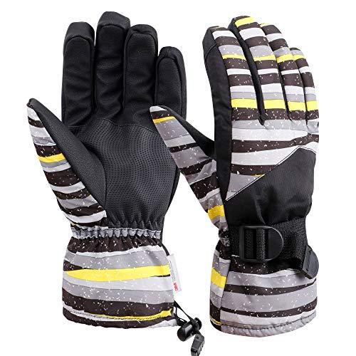Galexia Zero Mens Womens Waterproof Touchscreen 3M Thinsulate Lined Ski Gloves