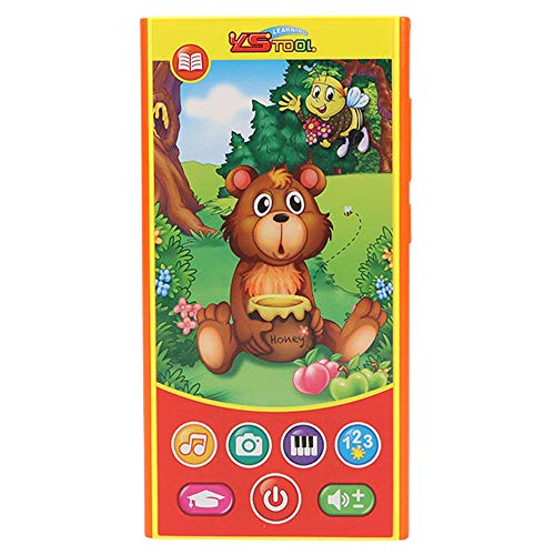 Clearance! DDLmax Baby Phone Toys Music Toddler Phone Early Educational Learning Toy Gift for Kids (A) from DDLmax