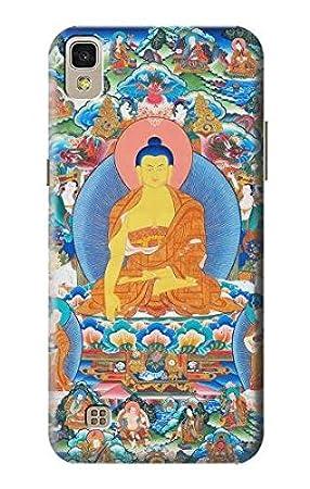 Innovedesire Buddha Paint Funda Carcasa Case para LG X Power ...