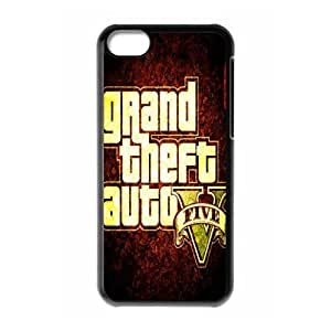 Hanifa Dirar Hadad's Shop New Style 8113172M27327032 Game Design-3 Grand Theft Auto V Print Black Case With Hard Shell Cover for Apple iPhone 5C