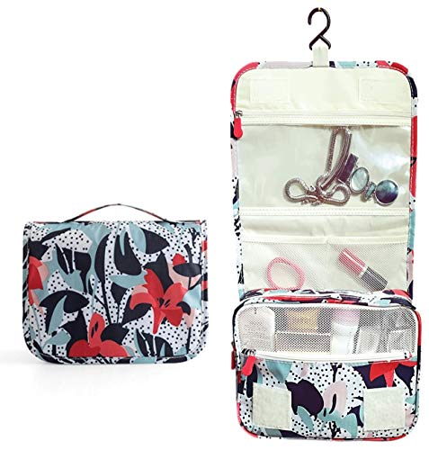 Organizers Set for Carry on Travel cosmetic Bag Luggage Cube (Lily 1pcs)