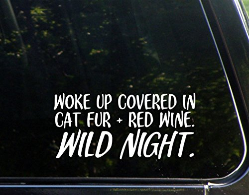 Diamond Graphics Woke Up Covered in Cat Fur & Red Wine. Wild Night (8