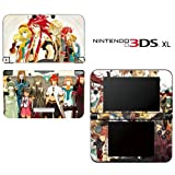 Tales of the Abyss Decorative Video Game Decal Cover Skin Protector for Nintendo 3DS XL
