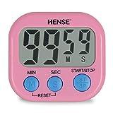 HENSE Mini Precision Digital Kitchen Timer and Reminder Big...