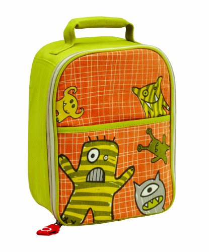 Sugarbooger Zippee Lunch Tote, Hungry Monsters
