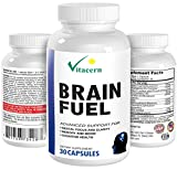 #1 Best Brain Supplement - Memory Enhancement and Mental Focus Formula - Natural Pure Nootropics to Improve and Boost Brain Power, Mind, Concentration & Energy for Healthy Brain Function & Support