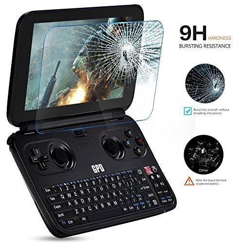 KuGi GPD Win Screen protector,9H Hardness HD clear Tempered Glass Screen Protector for GPD Win smartphone(Clear) Photo #3