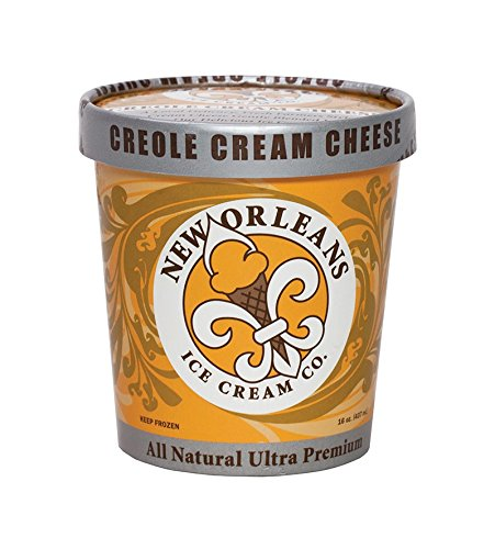 New Orleans Ice Cream Company, Creole Cream Cheese, Pint (4 Count)