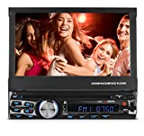 XO Vision X358 7'' In-Dash Touch Screen DVD Receiver with Front USB & AV Inputs