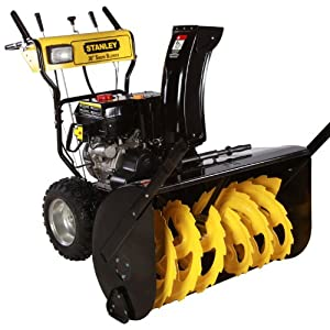 B008G7EN6Q_Stanley 30in. Commercial 302cc Electric Start 2-Stage Gas Snow Blower, Bonus Drift Cutters and Clean-Out Tool