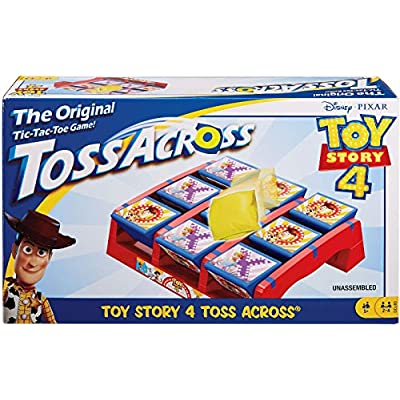 Disney Pixar Toy Story 4 Toss Across Game: Toys & Games