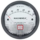 Dwyer Magnehelic Series 2000 Differential Pressure Gauge, Range 0-20 psi