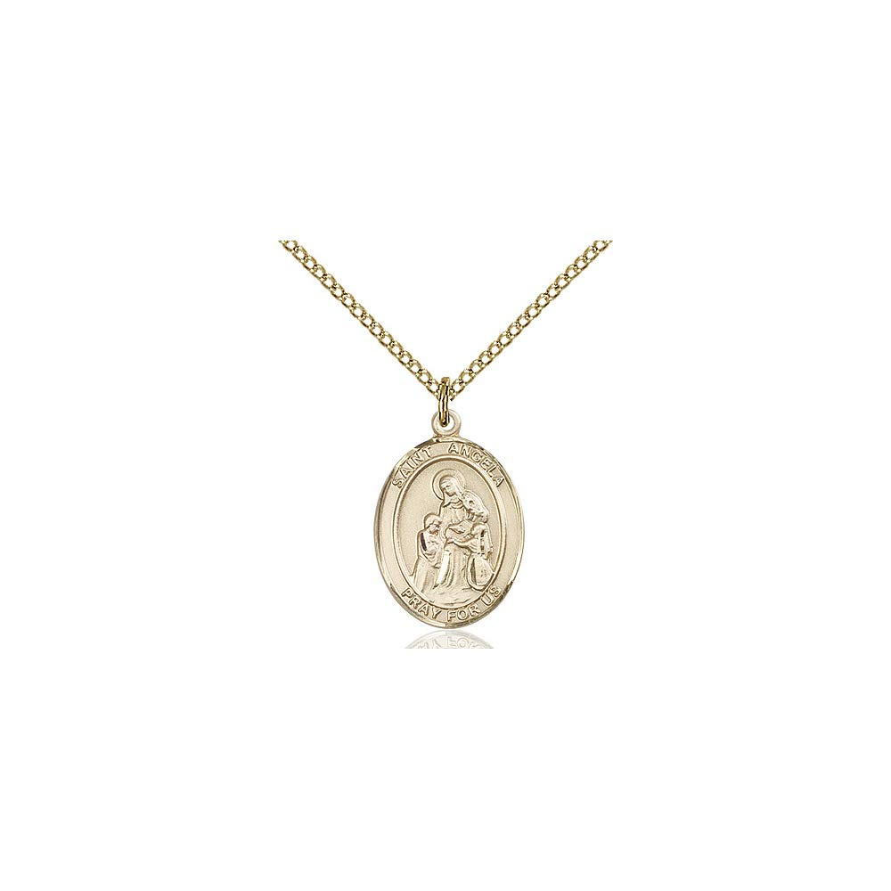 Angela Merici Pendant DiamondJewelryNY 14kt Gold Filled St
