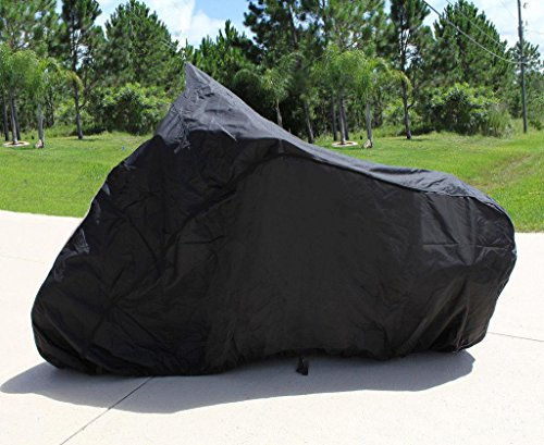(SUPER HEAVY-HEAVY DUTY BIKE MOTORCYCLE COVER HARLEY DAVIDSON ROAD KING FLHRI )