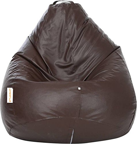 Stylecraft XXL Bean Bags Cover Without Beans  Brown