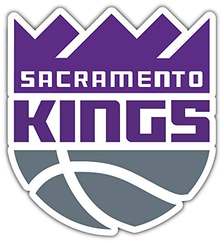 skyhighprint - Sacramento Kings Sport Decor Vinyl Print Sticker 5'' X 5'' (Home Goods Sacramento)
