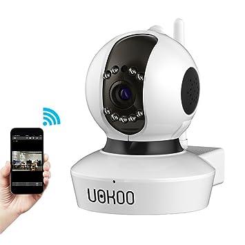uokoo 720P IP inalámbrica cámara, cámara de seguridad inalámbrica de vigilancia IP/red,