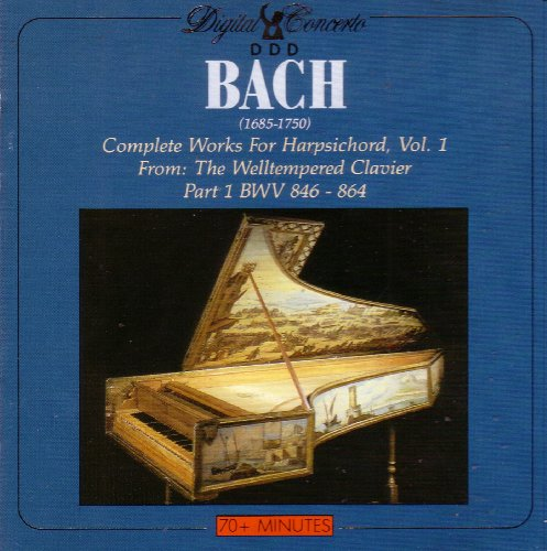 Bach Complete Works for Harpsichord