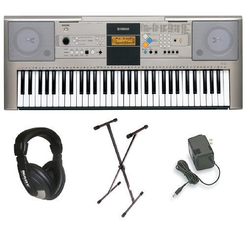 yamaha-ypt-320-61-key-personal-keyboard-with-ac-adapter-deluxe-keyboard-stand-and-professional-headp