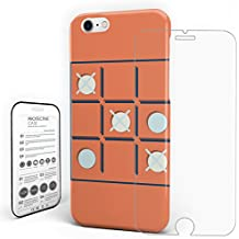 Phone Cases for iPhone 7/8 Shock Absorption Anti-Scratch Technology Soft Unique Cover - Chess Game Pattern, 4.7 inch