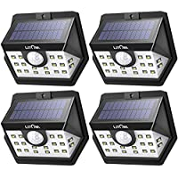 LITOM Classic Solar Lights Outdoor, 20 LED Wireless...