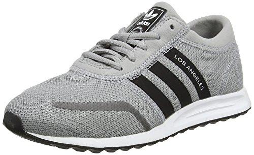 adidas Unisex Kids' Los Angeles J Running Shoes Grey (Mid Grey S14) e0UU79