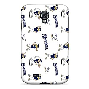 Hot Snap-on Milwaukee Brewers Hard Cover Case/ Protective Case For Galaxy S4