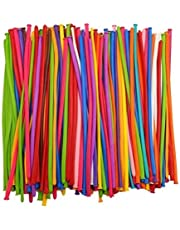 AvoDovA 100PCS Classic Modelling Long Balloons for Magic Balloons Party Supplies Christmas Decorations Multiple Colour, Durable Latex Twisting Balloons for Animals Shape Party, Party Fun Activity